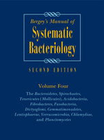 The cover of Bergey's Manual of Systematic Bacteriology, Second Edition, Volume 4