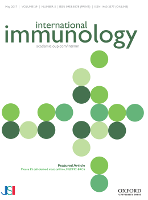 Cover image from International Immunology (journal)