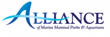 Logo of the Alliance of Marine Mammal Parks & Aquariums